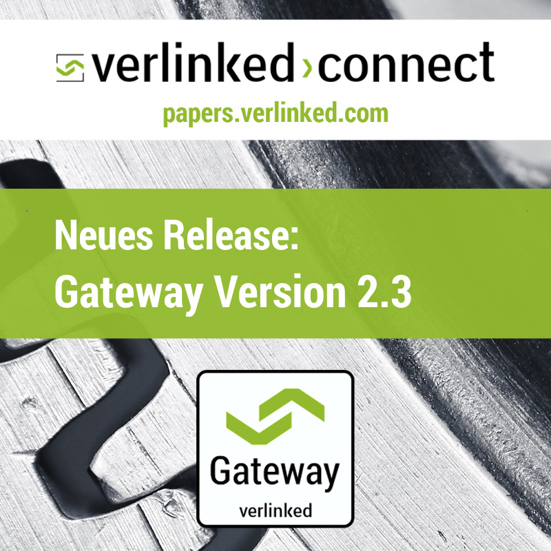 Neues Release: connect-Gateway Version 2.3