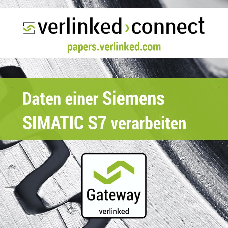Daten einer Siemens Simatic S7 SPS verarbeiten