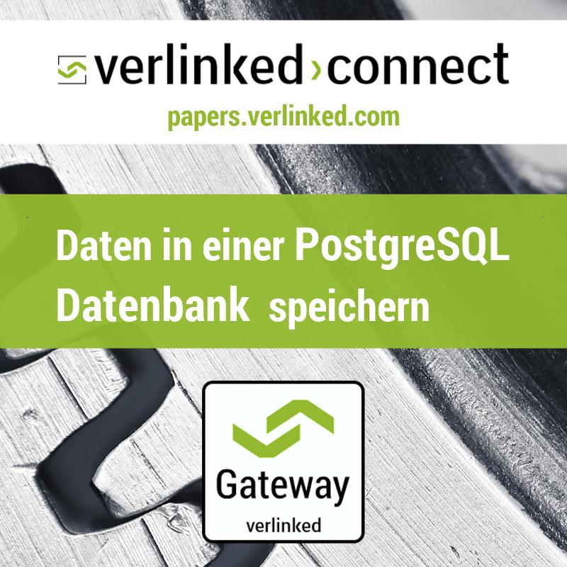 Daten in einer PostgreSQL Datenbank speichern